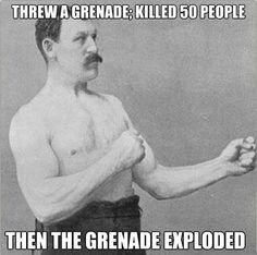 Overly Manly Man photo