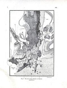 Geopolitical - Map - Geology, Icelandic hot springs