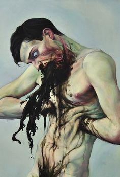 psychetronictonic: (source) Paintings by Milan Nenezic