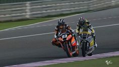 how risky a moto2 race can be!