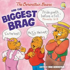 In this newest Berenstain Bears Living Lights 8x8 book, The Berenstain Bears and the Biggest Brag, Brother and Sister learn that being proud of your accomplishments is fine as long as you remember your talents are gifts from God.