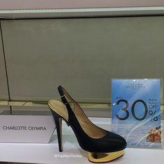 HarveyNicholsSale Charlotte Olympia Shoes Price  was 306 KD now 214 KD   Padgram Olympia eb78cd5ff9885