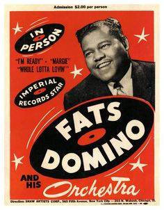 Fats Domino | vintage | Rock'n Roll |