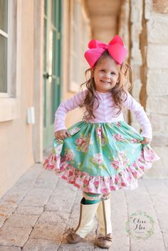 A little girls dream boutique! Olive Mae Clothing