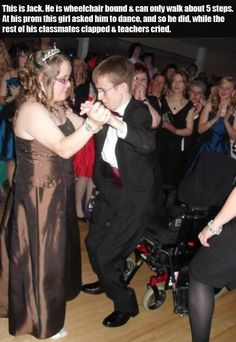 Faith In Humanity Restored � 30 Pics idk why but when it comes to these kind of dances I just have to smile and cry:)