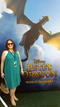 I attened the Green Carpet Premiere of Pete's Dragon. See the magical event. #PetesDragonEvent