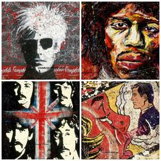 In an effort to support our local artists Andrew Martin is proud to announce a limited time exhibit by artist Charles Weiss. Stop by our Houston showroom to check out his one of a kind pieces!  #popart #localartist #houston #andrewmartin #andywarhol #dch #thebeatles #fabfour #jimihendrix #lichtenstein #jacksonpollock