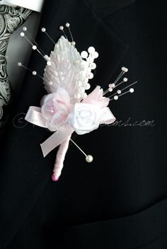Unique Collection of Handmade, Elegant and Stylish Wedding Boutonnieres Designed Corsage Wedding, Bridesmaid Bouquet, Wedding Bouquets, Wedding Flowers, Bridesmaid Dresses, Wedding Dresses, Brooch Boutonniere, Wedding Boutonniere, Groom Wedding Accessories