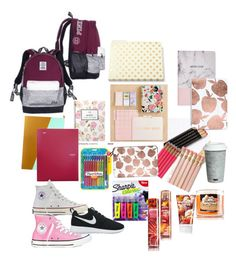 """Back to school #5"" by eliyanakubelis on Polyvore featuring interior, interiors, interior design, home, home decor, interior decorating, Boohoo, Fitz & Floyd, Casetify and Kate Spade"