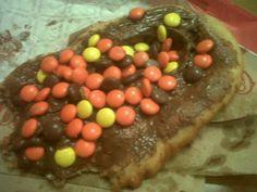 Chocolate peanut butter heaven
