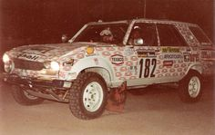 '82 Dangel 504 Paris-Dakar Rallye Paris Dakar, 4x4, Rally Dakar, Rallye Raid, Mountain Photos, Old Paris, Engin, Texaco, Road Runner