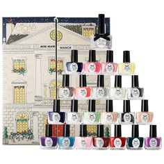 Ciate Mini Mani Manor Nail Polish Advent Calendar Holiday Edition Gift Set ** Visit the image link more details. (This is an affiliate link) Advent Calendar Gifts, Beauty Advent Calendar, Advent Calenders, Holiday Calendar, Calender 2014, Christmas Countdown, Countdown Calendar, Calendar Ideas, Ciate Nail Polish