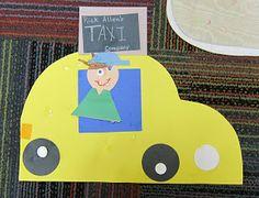 """Mrs. Karen's Preschool Ideas: """"T"""" Week and Transportation"""