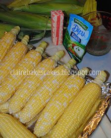 My Life as a MOM: Oven Roasted Ranch Corn on the Cob Recipe