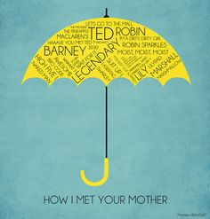 How I Met Your Mother Graphic Poster