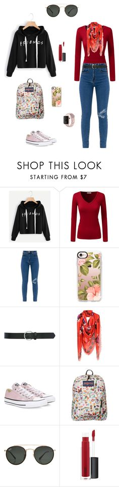 """Untitled #135"" by jesica-d-psc on Polyvore featuring Casetify, M&Co, Alexander McQueen, Converse, JanSport, Ray-Ban and John Lewis"