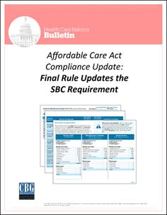 An Overview Of The Summary Of Benefits And Coverage Document