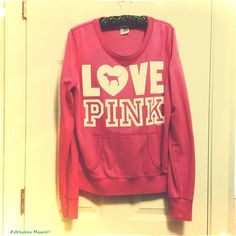Victoria Secret PINK Light Blue Sweatshirt! Love It! | VS PINK ...