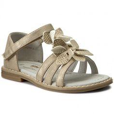 Sandále NELLI BLU - C17SS268-2 Zlatá