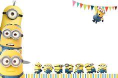 Tarjeta de cumpleaños original para celebración de cumpleaños Minions