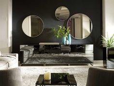 Circle Wall Mirrors from Notremonde