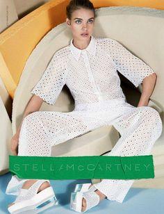 Stella McCartney's #spring2013 campaign featuring Natalia Vodianova.  @Stella Menagia McCartney  #fashion #campaigns