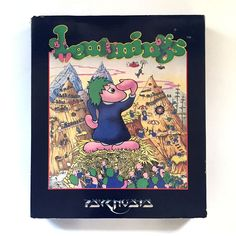 LEMMINGS · DRO SOFT SPAIN 1992 PSYGNOSIS DMA DESIGN AMSTRAD CPC 464 664 CASSETTE