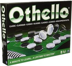 Amazon.com: Cardinal Othello - Classic - Othello - : Toys & Games Games To Buy, Strategy Games, Good Company, Board Games, Learning, Classic, 40 Years, Challenge