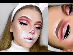BUNNY Halloween Tutorial | TutorialsByTina - YouTube