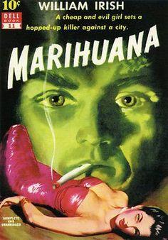 Marihuana - 1941 - Pulp Novel Cover Poster