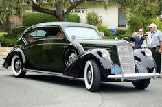 1938 Lincoln K Twelve Judkins Touring Coupe
