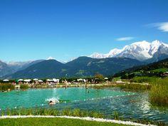 Face au Mont-Blanc : balade à Combloux