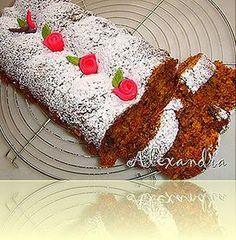 Μια πολύ νόστιμη συνταγή για ένα νηστήσιμο κέικ,τόσο αφράτο και τόσο ζουμερό!! Υλικά 1 κούπα ζάχαρη 1 κούπα τριμμένο καρότο 1 κούπα τριμμένο... Sweets Recipes, Cake Recipes, Greek Cookbook, Greek Desserts, Cooking Cake, Brownie Cake, Brownies, Angel Cake, Light Recipes