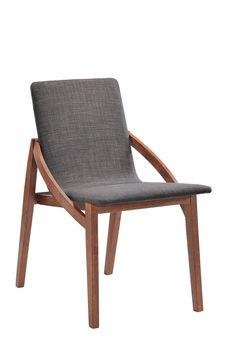 "Vig Furniture Modrest Jett Modern Espresso Fabric Dining Chair. Modrest Jett Modern Espresso Fabric Dining Chair<br><br>Dimensions: W20"" x D28"" x H33"""