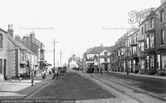 Photo of Seaton Carew, Front Street 1914 North East England, Durham, Old Pictures, Seaside, The Past, History, Street, Photos, Antique Photos