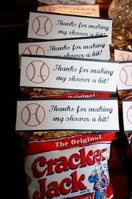 baseball themed baby shower decorations - Google Search