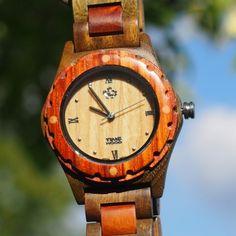 dřevěné hodinky Hadir od TimeWood