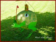 DIY Frog Prince Pinata