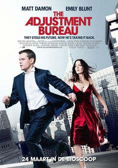 The Adjustment Bureau... Didn't know what to expect but i actually ended up really enjoying it...
