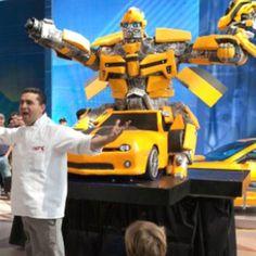 Cake boss ... Transformer cake