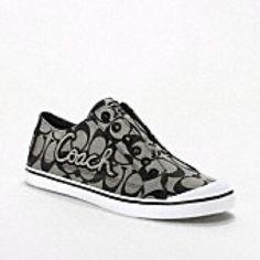 need new Coach tennis shoes. Coach Tennis Shoes, Coach Sneakers, Nike Sneakers, Coach Flats, Cute Shoes, Me Too Shoes, Brand Name Purses, Shoe Boots, Shoes Heels