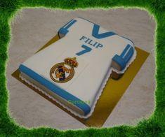 Dorty od Gorolky - Fotoalbum - Dorty - Narozeninové - dres Real Madrid