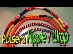 ▶ Pulsera Hippie/Wrap || Tutorial Macramé - YouTube
