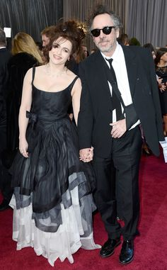"""Sad news: Tim Burton & Helena Bonham Carter have split after 13 years together! They confirm they've """"separated amicably""""—we wish them both the best!"""