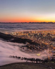 A lot of people are headed to Mother Africa to bring in the new year! Where are you traveling to ? Beautiful morning mists in Cape Town via 📸 Visit South Africa, Cape Town South Africa, Cape Town Accommodation, Nature Photography, Travel Photography, Beautiful Morning, Africa Travel, Natural Wonders, Traveling By Yourself