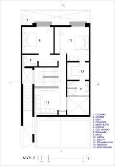 Casa CONTADERO,Floor plan 02