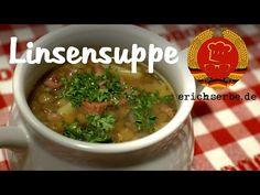 Linsensuppe - Essen in der DDR: Koch- und Backrezepte für ostdeutsche Gerichte | Erichs kulinarisches Erbe