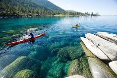 Kayak Lake Tahoe Explore 235 Flat Water Paddling Destinations in California www.kayakandcanoeguidebooks.com