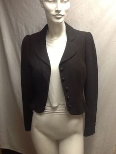 Moschino Brown Jacket CheapandChic Ladies 8 Long Sleeves Made in Italy #Moschino #BasicCoat