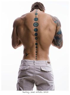 Awesome Men's Tattoos . InkDoneRight We've collected 55 Awesome Different Mens Tattoo Designs to inspire you! We also have the meaning and symbolism behind the common men's tattoo designs. Sexy Tattoos, Cool Back Tattoos, Back Tattoos For Guys, Great Tattoos, Body Art Tattoos, Tatoos Men, Music Tattoos, Amazing Tattoos, Spine Tattoo For Men